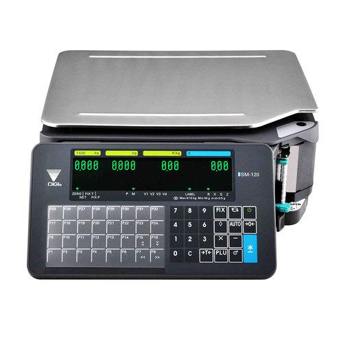 Digi120SM-B Bon- und Etikettenwaage